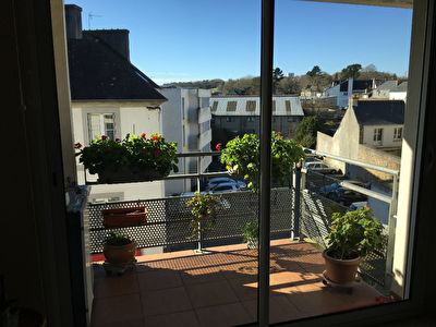 Appartement Landerneau Ascenseur Parking 84 m2
