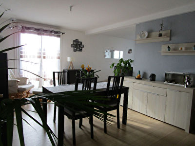 BREST-Centre ville-Appartement de Type 4- 69 m²
