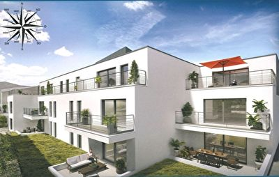 Appartement  neuf  3 pièce(s) 69 m2 1/2